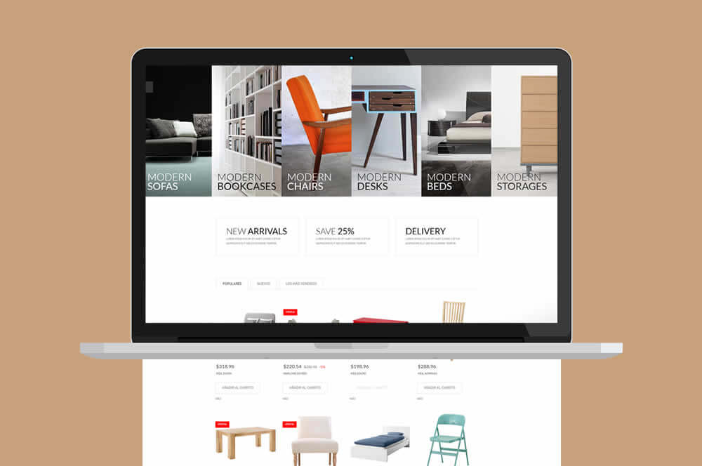 plantilla-Prestashop-furniture-laptop