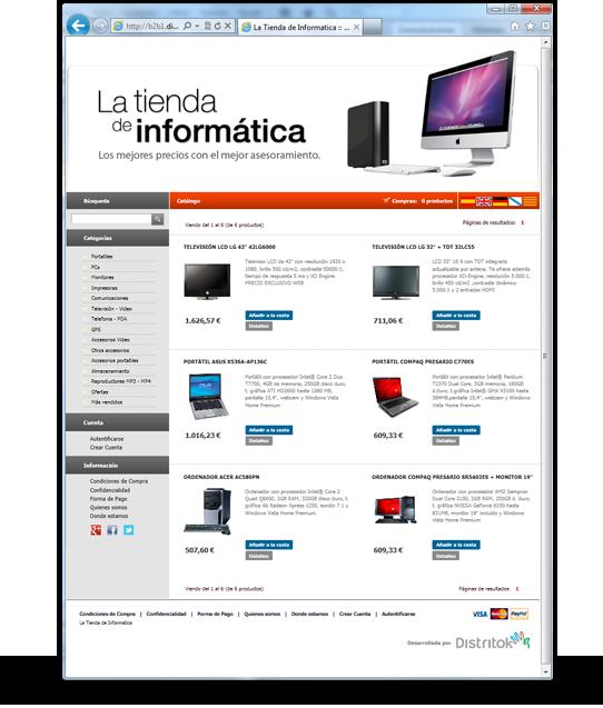 eCommerce ERP Ibi Alicante